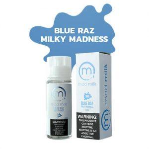 Mod Milk E-Liquid - Blu-Raz Milky Madness - 120ml / 6mg