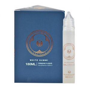 Moku Oyatsu E-Liquids - White Gummi - 180ml - 180ml / 0mg
