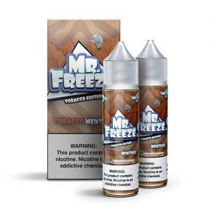 Mr. Freeze eLiquid Tobacco Edition - Tobacco Menthol - 2x60ml / 0mg