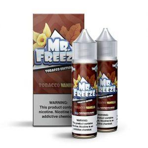 Mr. Freeze eLiquid Tobacco Edition - Tobacco Vanilla - 2x60ml / 6mg