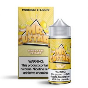 Mr. Custard Premium E-Liquid - Lemon Cake Custard - 100ml / 6mg