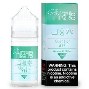 Nkd 100 Salt E-Liquid - Arctic Air - 30ml / 35mg