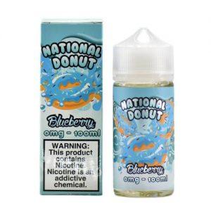 National Donut - Blueberry - 100ml / 0mg