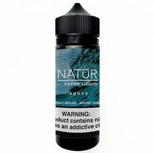 NATUR Vapor Liquid - Aquos - 120ml / 6mg