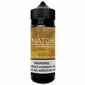 NATUR Vapor Liquid - Creme - 120ml / 3mg