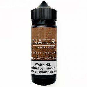 NATUR Vapor Liquid - Sweet Tobacco - 120ml / 3mg