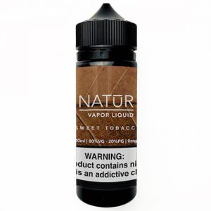 NATUR Vapor Liquid - Sweet Tobacco - 120ml / 0mg