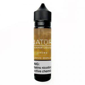 NATUR Vapor Liquid - Creme - 60ml / 6mg