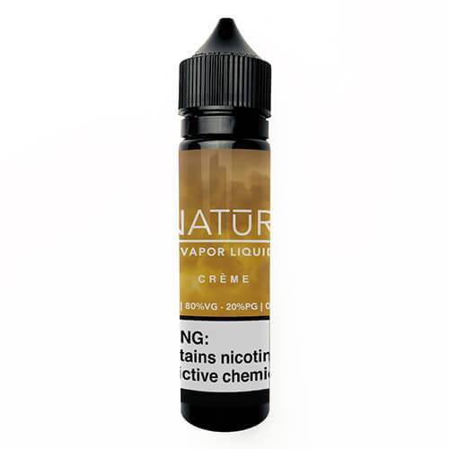 NATUR Vapor Liquid - Creme - 60ml / 12mg