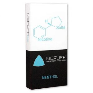 NicPuff - Flavor Pod - Menthol Tobacco (4 Pack) - 1.5ml / 38mg