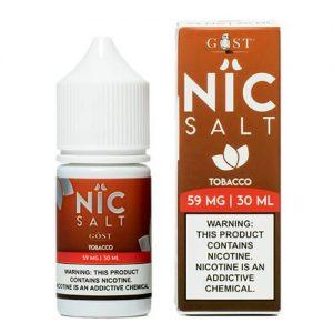 Nic Salt by Gost Vapor - Tobacco - 30ml / 30mg