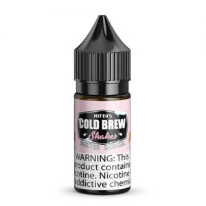 Nitro???s Cold Brew Shakes Salted Blends - Salted Caramel - 30ml / 25mg