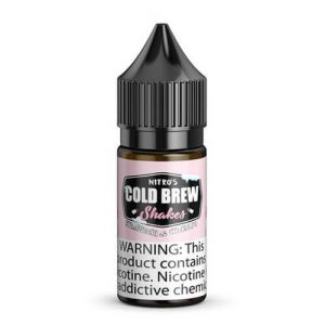 Nitro???s Cold Brew Shakes Salted Blends - Strawberi & Cream - 30ml / 45mg