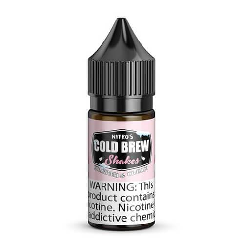 Nitro???s Cold Brew Shakes Salted Blends - Strawberi & Cream - 30ml / 25mg