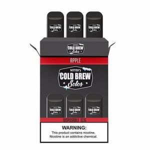 Nitro?ÇÖs Cold Brew Solos - Disposable Device - Apple - 3 Pack / 50mg