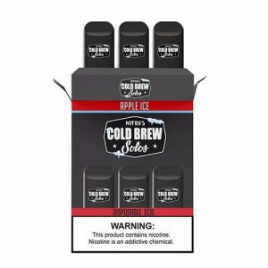 Nitro???s Cold Brew Solos - Disposable Device - Apple Ice - 3 Pack / 50mg