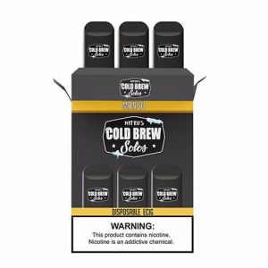 Nitro???s Cold Brew Solos - Disposable Device - Mango - 3 Pack / 50mg