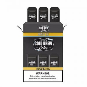 Nitro?ÇÖs Cold Brew Solos - Disposable Device - Mango Ice - 3 Pack / 50mg