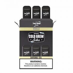 Nitro???s Cold Brew Solos - Disposable Device - Vanilla - 3 Pack / 50mg
