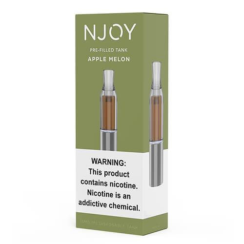 Njoy Pre-Filled Tank - Apple Melon - 3ml / 15mg