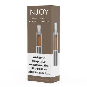 Njoy Pre-Filled Tank - Classic Tobacco - 3ml / 15mg