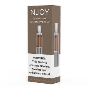 Njoy Pre-Filled Tank - Classic Tobacco - 3ml / 25mg
