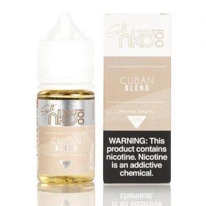 Nkd 100 Salt E-Liquid - Cuban Blend - 30ml / 50mg