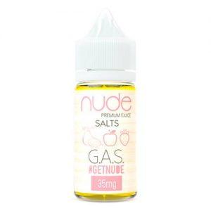 Nude Salts eJuice - GAS Salt - 30ml / 50mg
