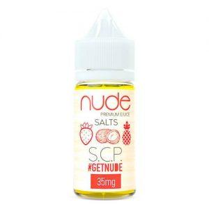 Nude Salts eJuice - SCP Salt - 30ml / 35mg