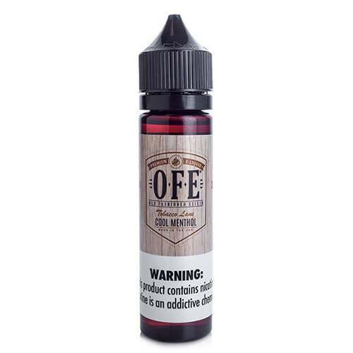OFE (Old Fashioned Elixir) - Cool Menthol - 30ml / 12mg