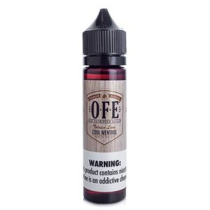 OFE (Old Fashioned Elixir) - Cool Menthol - 60ml / 3mg