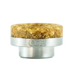 ONEtips by District F5VE - Gold Flake/Stainless Steel Base