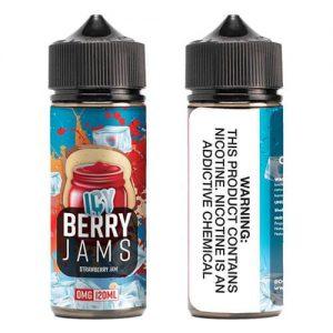 OOO E-Juice ICE - Icy Berry Jams - 120ml / 3mg