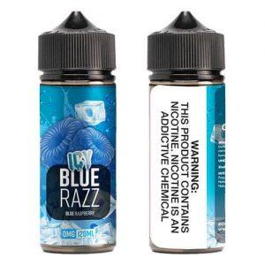 OOO E-Juice ICE - Icy Blue Razz - 120ml / 6mg