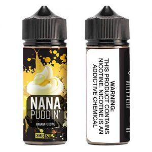 OOO E-Juice - Nana Puddin - 120ml / 0mg
