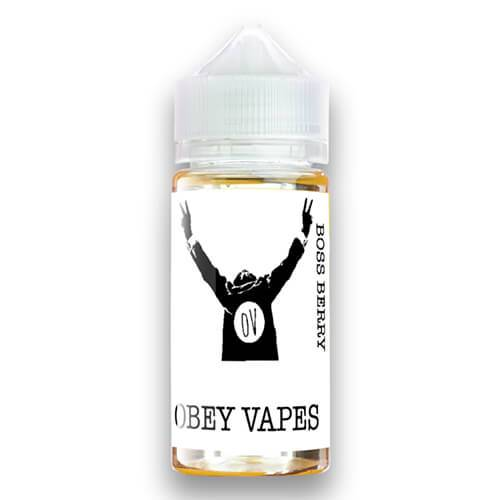 Obey Vapes - Boss Berry - 100ml / 0mg