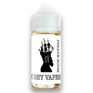 Obey Vapes - Pirate Scum - 100ml / 3mg