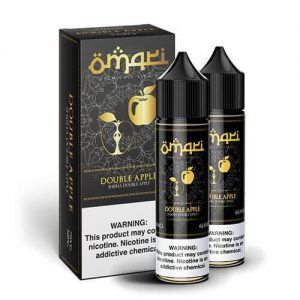Omari E-Liquid - Double Apple - 2x60ml / 6mg