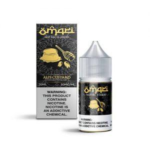 Omari E-Liquid SALTS - Ali's Custard - 30ml / 30mg