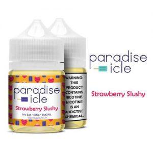 Paradise-icle Nic Salts - Strawberry Slushy - 60ml / 3mg