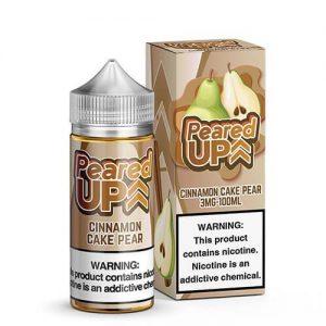 Peared Up eLiquid - Cinnamon Cake Pear - 100ml / 0mg