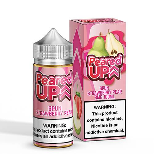 Peared Up eLiquid - Spun Strawberry Pear - 100ml / 0mg