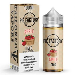 Pie Factory by Tailored Vapors - Apple - 100ml / 0mg