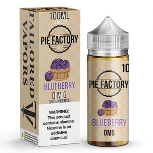 Pie Factory by Tailored Vapors - Blueberry - 100ml / 6mg