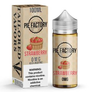 Pie Factory by Tailored Vapors - Strawberry - 100ml / 0mg