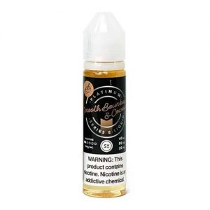 Platinum Series by Simply Vapour - Smooth Bourbon & Coconut - 60ml / 0mg