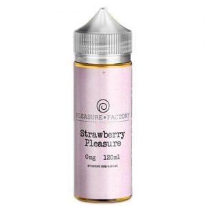 Pleasure Factory eJuice - Strawberry Pleasure - 120ml / 0mg