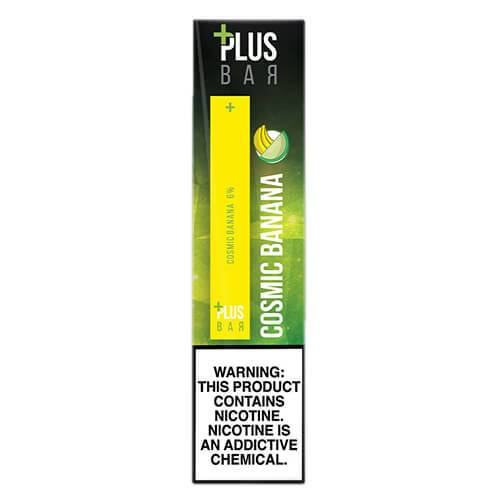 Plus Pods - Disposable Vape Pod Device - Cosmic Banana - 1.3ml / 60mg