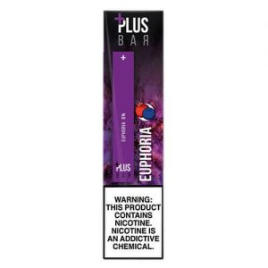Plus Pods - Disposable Vape Pod Device - Euphoria - 1.3ml / 60mg