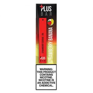 Plus Pods - Disposable Vape Pod Device - Strawberry Banana - 1.3ml / 60mg